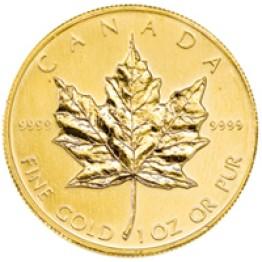 Златна монета Кандски кленов лист 1 oz