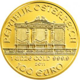 Златна монета Виенска Филхармония 1 oz
