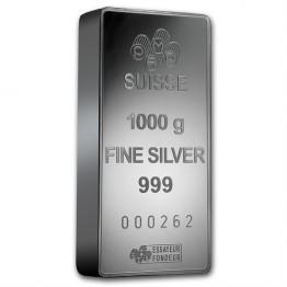 Сребърно кюлче 1000 грама