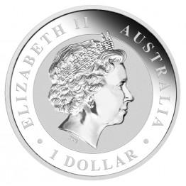 Сребърна монета Австралийска Кукабура 2012 1 kg