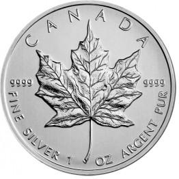 Сребърнa монета Канадски кленов лист 1 oz