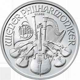 Сребърнa монета Виенска Филхармония 1 oz